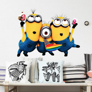 Sticker perete Minion Party