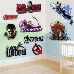 Sticker perete personaje Avengers