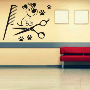 Sticker perete Pet Salon 3