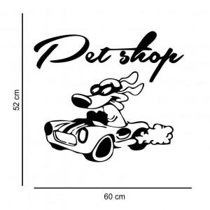 Sticker perete Pet Shop