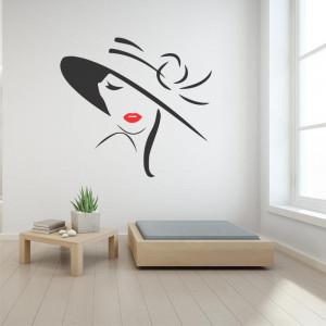 Sticker perete silueta Femeie 11
