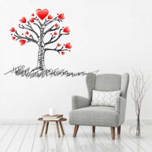 Sticker perete Tree of Love