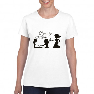 Tricou personalizat dama Beauty Salon