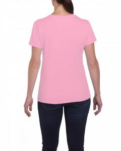 Tricou personalizat dama roz Fast Food