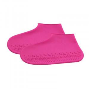 Protectie incaltaminte ploaie Roz L
