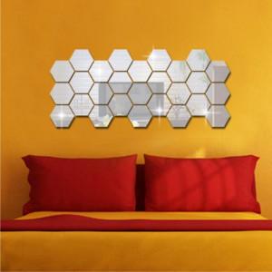 Sticker acrilic 3D Hexagon