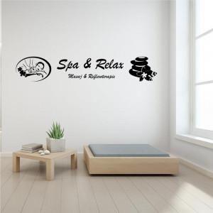 Sticker decorativ Salon Masaj 7