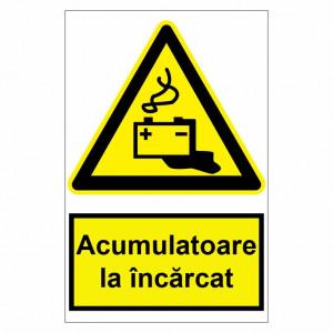 Sticker indicator Acumulatoare la incarcat
