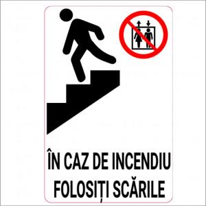 Sticker indicator Folositi scarile 1