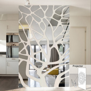 Sticker perete 3D Wall Art Mirror