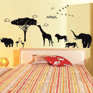 Sticker perete Africa 2
