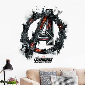 Sticker perete Avengers 3D