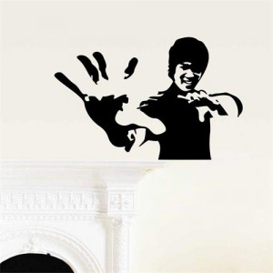 Sticker perete Bruce Lee 57 x 37 cm
