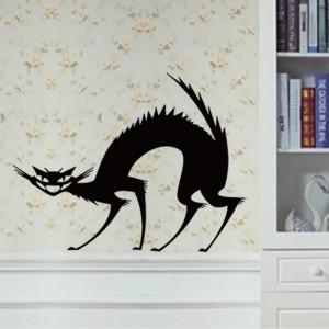 Sticker perete Evil Cat
