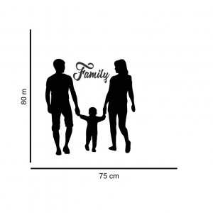 Sticker perete Family 2