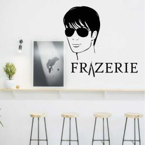 Sticker perete Frizerie 11