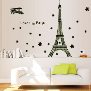 Sticker perete Glow in the Dark Paris