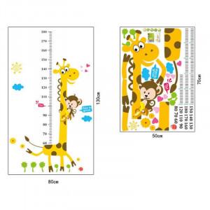 Sticker perete Grow up Girafa