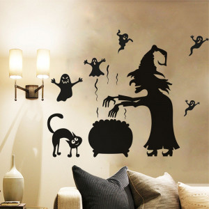 Sticker perete Halloween Decor 9