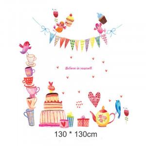 Sticker perete Happy Tea Party