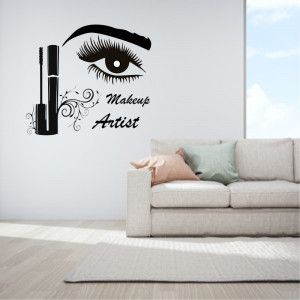 Sticker perete Make Up Artist 4