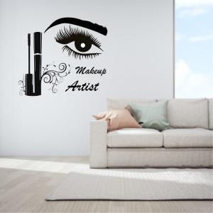 Sticker perete Make Up Artist 4