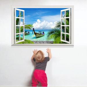 Fereastra 3D Insula Tropicala 3