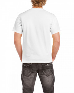 Tricou personalizat barbati alb Lup
