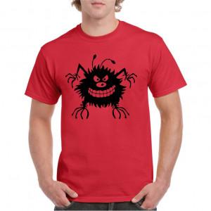 Tricou personalizat barbati rosu Bug S
