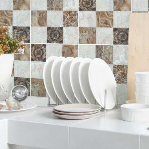 Set stickere decorative faianta Nuante Maro si Bej