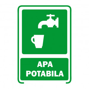 Sticker Indicator Apa Potabila