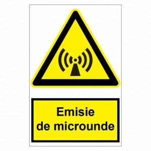 Sticker indicator Emisie de microunde