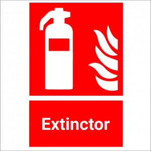 Sticker indicator Extinctor 2