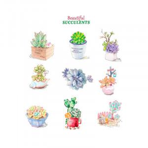 Sticker perete Cactusi