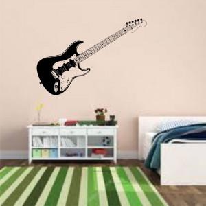 Sticker perete Chitara Electronica