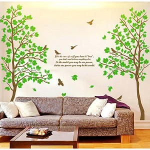 Sticker perete Green Forest