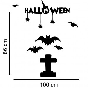Sticker perete Halloween Decor 3