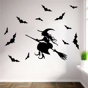 Sticker perete Halloween Decor 8