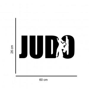 Sticker perete Judo