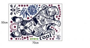 Sticker perete Just Pug 50x70cm