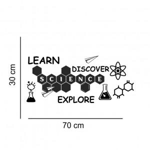 Sticker perete Laboratorul de Fizica