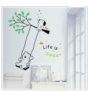 Sticker perete Life is Sweet