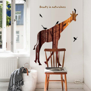 Sticker perete Magical giraffe
