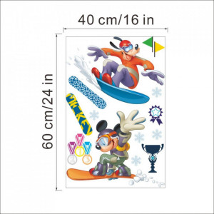 Sticker perete Mickey Sports