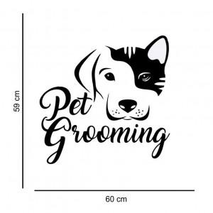 Sticker perete Pet Salon 2