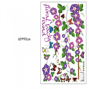 Sticker perete Purple Vines