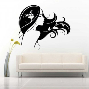 Sticker perete silueta Femeie 6
