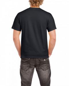 Tricou personalizat barbati negru Respect for Bikers