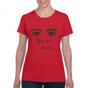 Tricou personalizat dama Salon Eyelashes 5