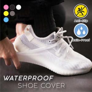 Protectie incaltaminte ploaie Alb L